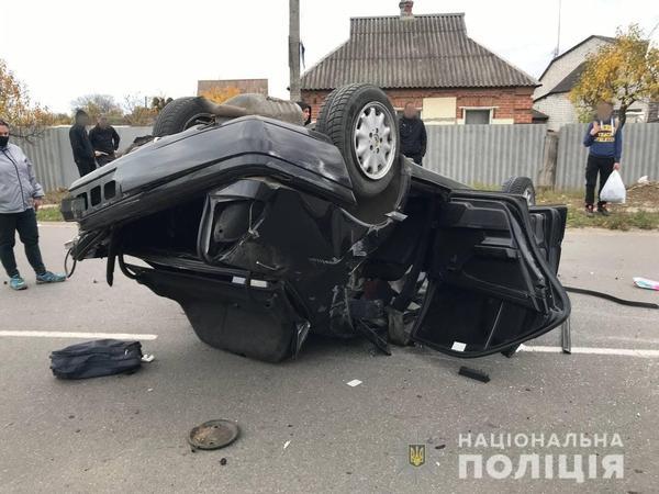 Авария на Харьковщине: машину разорвало на две части, есть пострадавшие (фото)