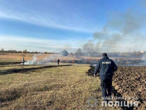 На Харьковщине мужчина чуть не сжег целое село
