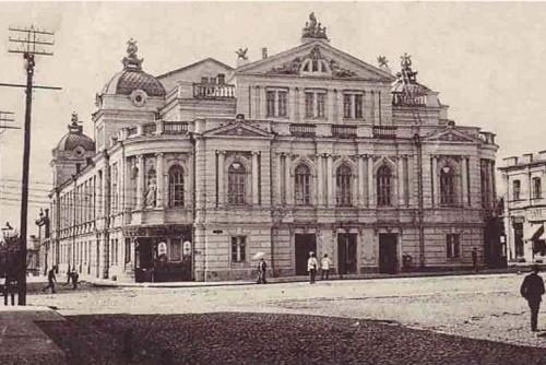 4 августа в истории Харькова: потоп в театре