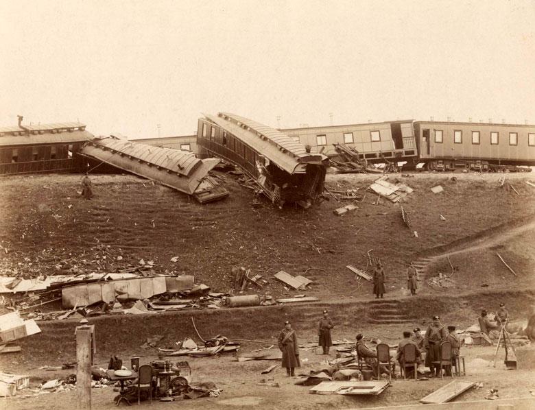 Борки, крушение императорского поезда